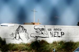 Wall faith politics
