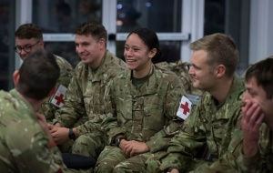 British Army Medics Depart To Provide Ebola Support In  Sierra-Leone